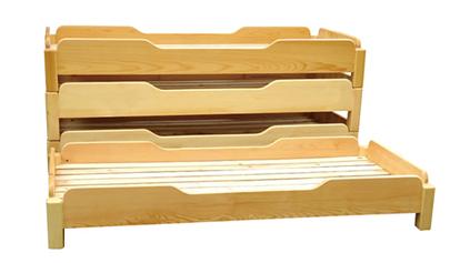 橡木儿童床QLD575