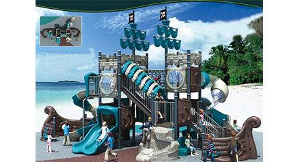 海盗船滑梯QLD132