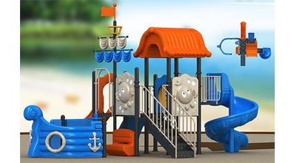 海盗船滑梯QLD137
