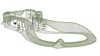 网绳钻洞QLD231