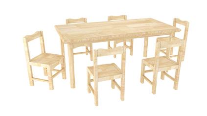 原木造型桌QLD382
