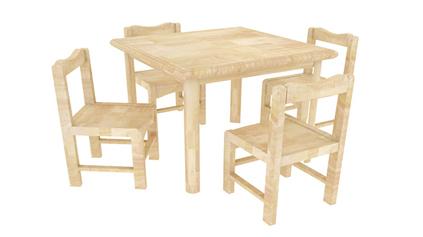 原木造型椅QLD383
