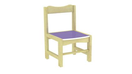 樟子松椅子QLD390