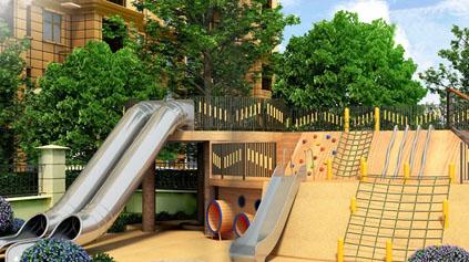 不锈钢滑梯QLD1101