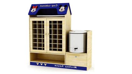 米奇茶杯柜QLD601