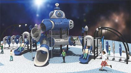 太空星球滑梯QLD1210