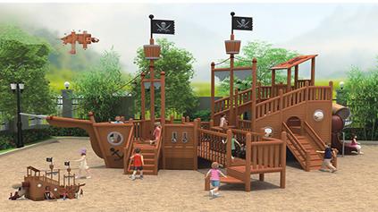 海盗船滑梯QLD188
