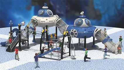 太空星球滑梯QLD1202