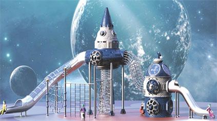 太空星球滑梯QLD1209