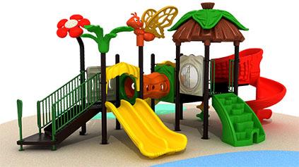 如何保养儿童滑梯?