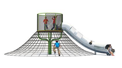 如何挑选不锈钢滑梯?