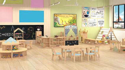 幼兒園家具是塑料的好?還是木質的好?