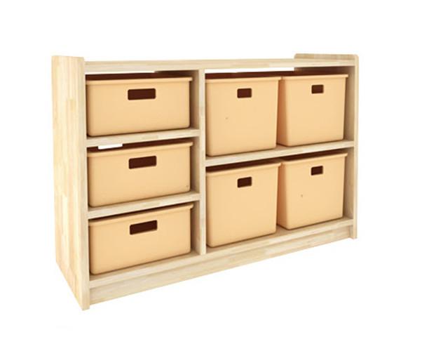 幼儿园置物柜