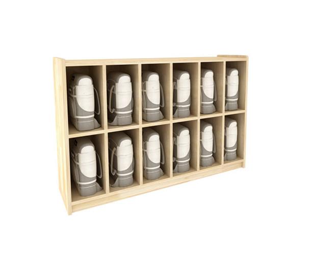 木质书包柜子