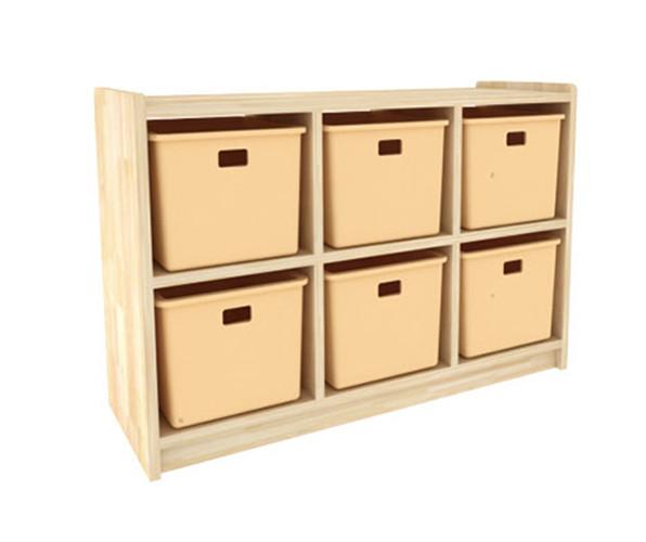 组合木质柜子